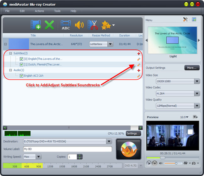 Make DVD movies from videos