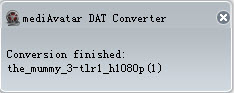 how to convert DAT files to other video