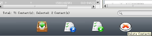 Export iPhone contacts to Mac