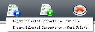 backup iPhone contacts to pc