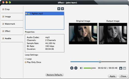 Mac Video format converting